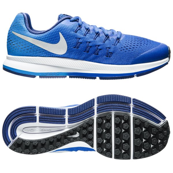 low priced c34ac 575e1 Nike Running Shoe Air Zoom Pegasus 33 Royal Blue Kids | www ...