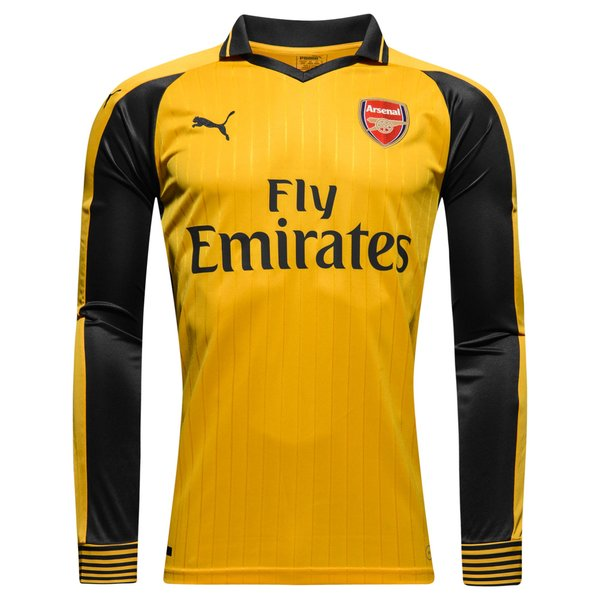 Arsenal maillot ext rieur manches longues 2016 17 www for Arsenal maillot exterieur