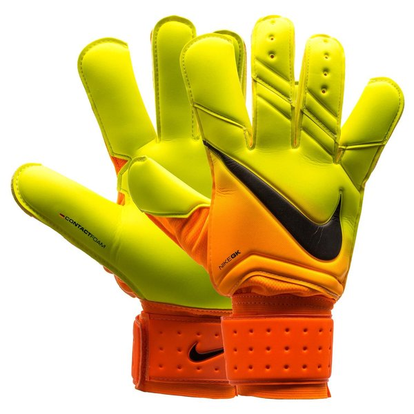 nike gants de gardien vapor grip 3 orange fluo. Black Bedroom Furniture Sets. Home Design Ideas