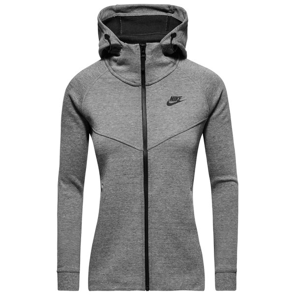 best cheap innovative design fashion style Nike Sweat à Capuche Tech Fleece FZ Gris Femme