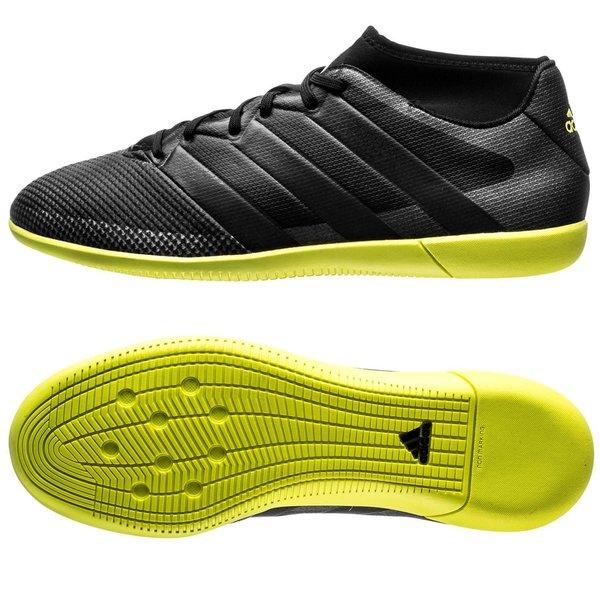brand new 74c21 aa057 adidas ACE 16.3 Primemesh IN Core Black Solar Yellow. Read more about the  product. - indoor shoes. - indoor shoes image shadow