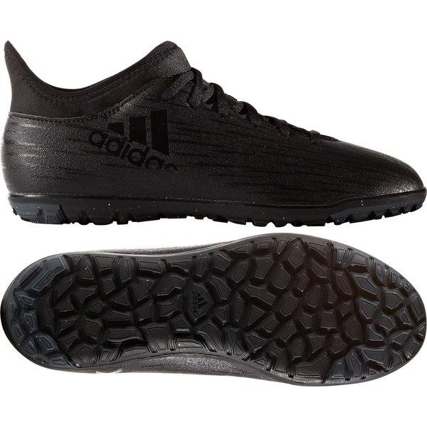 brand new ce1e3 33c0c adidas X 16.3 TF Core Black/Dark Grey Kids | www.unisportstore.com