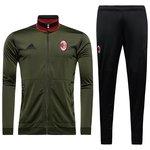 AC Milan Træningsdragt Grøn/Sort