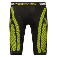 Select Profcare Compression Shorts - Black/Neon/Volt