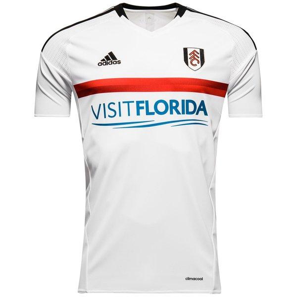 adidas Fulham Mens SS Home Shirt 2016/17 Image