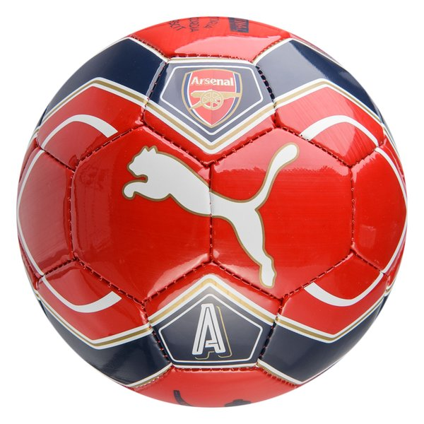 arsenal ballon de football fan ball mini rouge. Black Bedroom Furniture Sets. Home Design Ideas