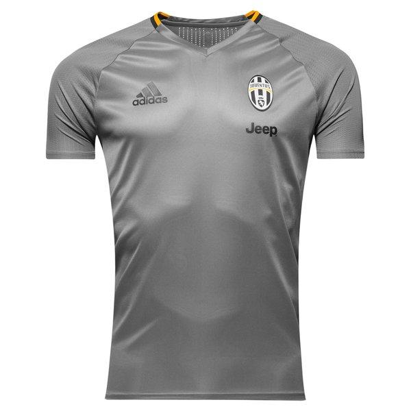 new product f1d91 b81db Juventus Training T-Shirt Solid Grey/Dark Grey/Collegiate ...
