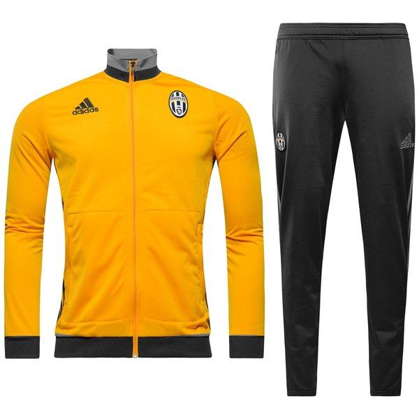 Shop für neueste billiger Verkauf Luxus kaufen Juventus Trainingsanzug Gelb/Grau Kinder   www.unisportstore.de