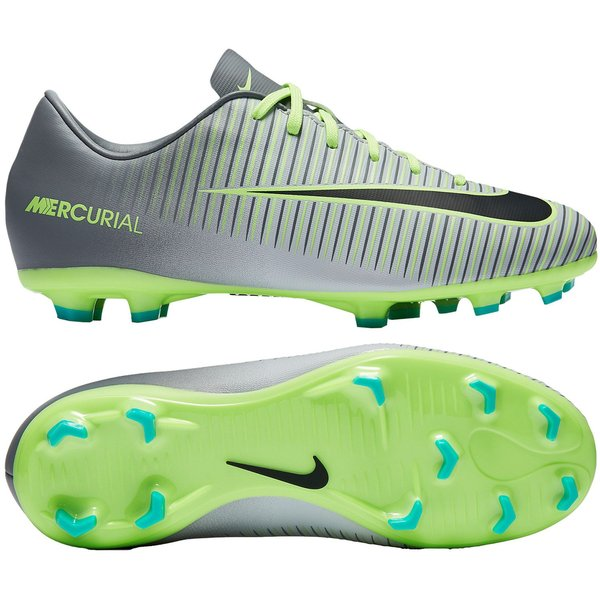 half off 51c9f dcdcd Nike Mercurial Vapor XI FG Elite Pack - Pure PlatinumBlackGhost Green Kids.  Read more about the product. - football boots image shadow