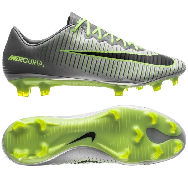 outlet store 8570b cb24b Nike Mercurial Vapor XI FG Elite Pack - Pure Platinum/Black ...