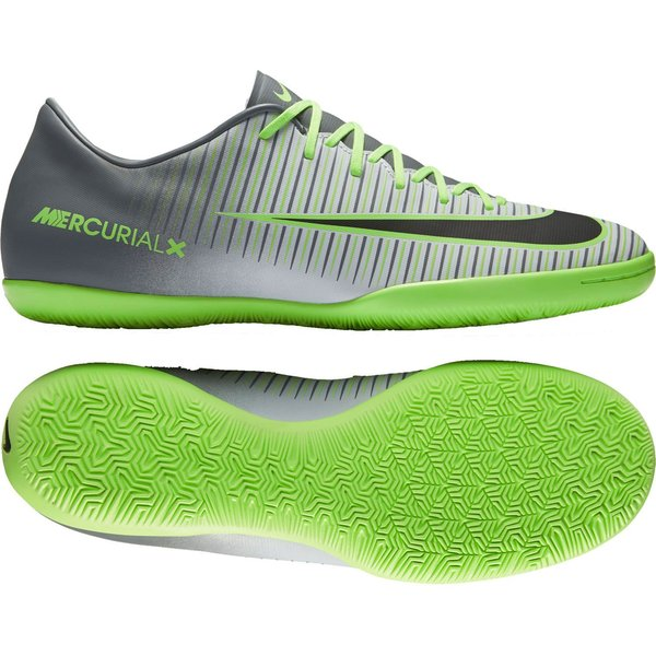 ebe4d7e7d 75.00 EUR. Price is incl. 19% VAT. -25%. Nike MercurialX Victory VI IC  Elite Pack - Pure Platinum Black Ghost Green