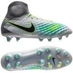 Nike Magista Obra II FG Elite Pack - Gris/Vert/Vert Turquoise