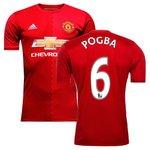 Manchester United Hjemmebanetrøje 2016/17 POGBA 6