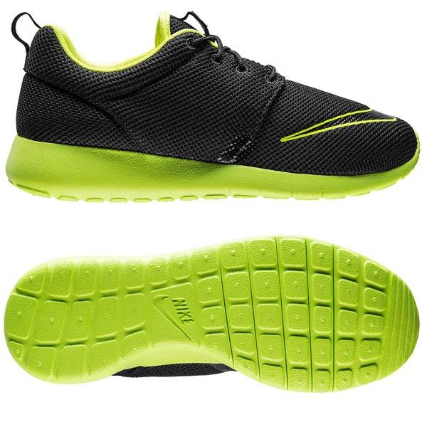 df230f3ab13d Nike Roshe One FB Black Volt Kids