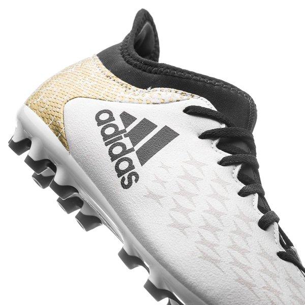 b7c8bc713da adidas X 16.3 AG Stellar Pack - Wit/Zwart/Goud Kinderen | www ...