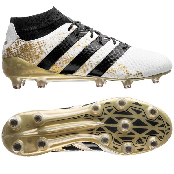 separation shoes a513b 54e59 inexpensive adidas ace 16.1 primeknit fg white gold 8723d 8494a  where to  buy football boots bf910 f1d09