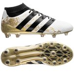 adidas ACE 16.1 Primeknit FG/AG Stellar Pack - White/Core Black/Gold Metallic