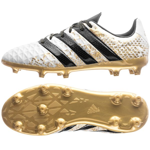 b56fbff5c64b adidas ACE 16.1 FG AG Stellar Pack - White Core Black Gold Metallic ...