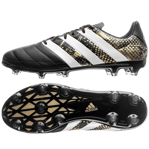 best website efd95 eb24b adidas ACE 16.2 Leather FG/AG Stellar Pack - Core Black ...