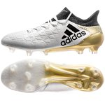 adidas X 16.1 FG/AG Stellar Pack - White/Core Black/Gold Metallic