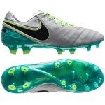 Nike Tiempo Legend 6 FG Elite Pack - Gris/Noir/Vert Turquoise