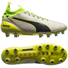 PUMA evoTOUCH Pro FG - Birch/Peacoat/Safety Yellow LIMITED EDITION