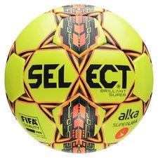 Select Fodbold Brillant Super Alka Superliga - Gul