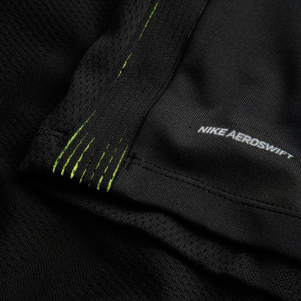 8b18a7edf7011 Nike Maillot d'Entraînement Midlayer AeroSwift Drill Strike - Noir/Jaune  Fluo 2