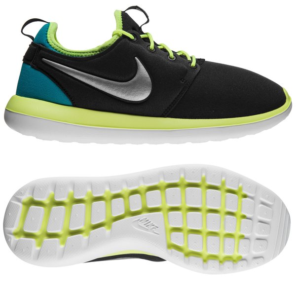 finest selection 68143 f0a24 Nike Roshe Two - Musta Neon Turkoosi Lapset 0
