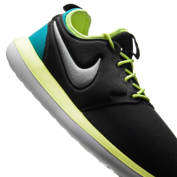 best loved 76d0f 2ffab Nike Roshe Two - Musta Neon Turkoosi Lapset 7