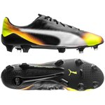 PUMA evoSPEED SL II Graphic FG - Black/White/Safety Yellow/Orange