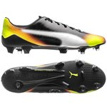 PUMA evoSPEED SL-S II Graphic FG - Black/White/Safety Yellow/Orange