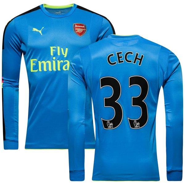 81ff0974 €110. Price is incl. 19% VAT. -53%. Arsenal Goalkeeper Shirt 2016/17 Blue CECH  33