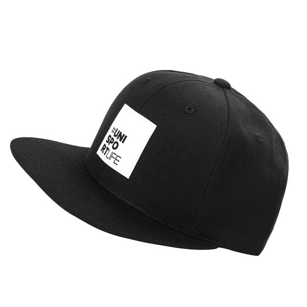 Unisportlife Roots Kasket Snapback - Sort thumbnail