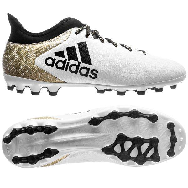 Adidas X 16.3 AG Blanc Noir Pas Cher | Chaussure De Foot