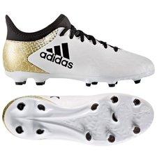 49e1cc4ce6f thumb {title}. -50%. adidas X 16.3 FG/AG Stellar Pack - Wit/Zwart/Goud  Kinderen 0