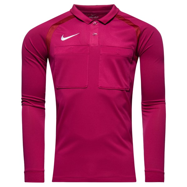 bf36af902bea Nike Maillot d Arbitre Manches Longues - Violet Bordeaux