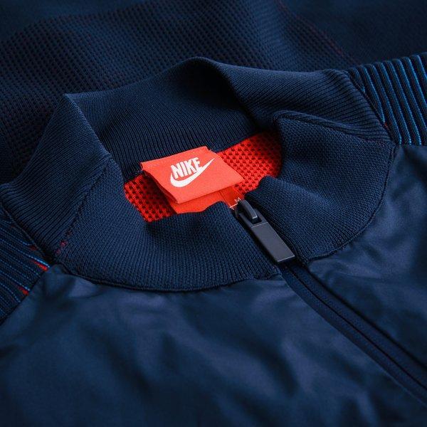 Veste Woven Tech Bleu Foncérouge Knit Nike OgpwqO