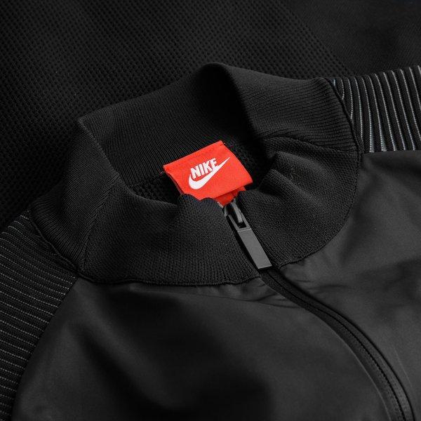 Nike Veste Tech Knit Woven Noir |