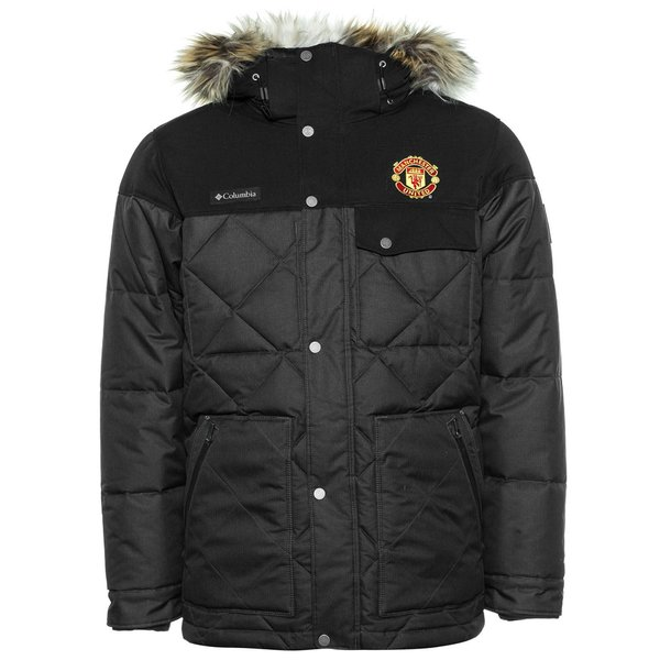 Manchester United x Columbia Jacket Barlow Pass 550 TurboDown Quilted -  Black. Read more about the product. - jackets. - jackets image shadow 36a6eac24e