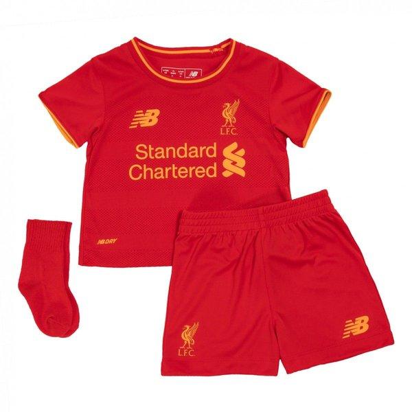 Liverpool Hjemmebanesæt 2016/17 Baby-Kit Børn thumbnail