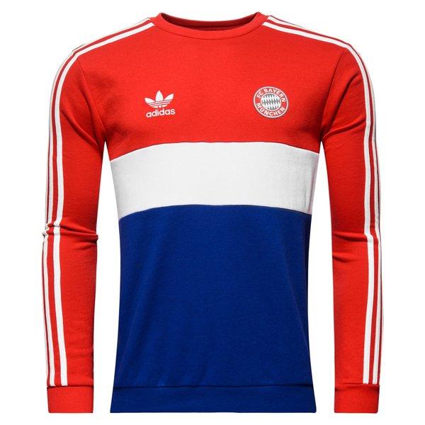 Bayern München Crewneck Originals RoodBlauwWit