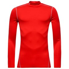 Under Armour ColdGear Compression Mock - Rouge