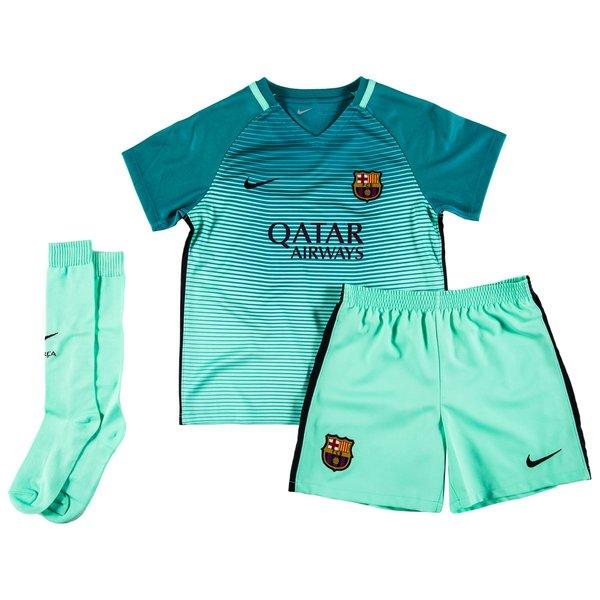 quality design 47d46 8ce8b Barcelona 3rd Shirt 2016/17 Mini-Kit Kids | www ...