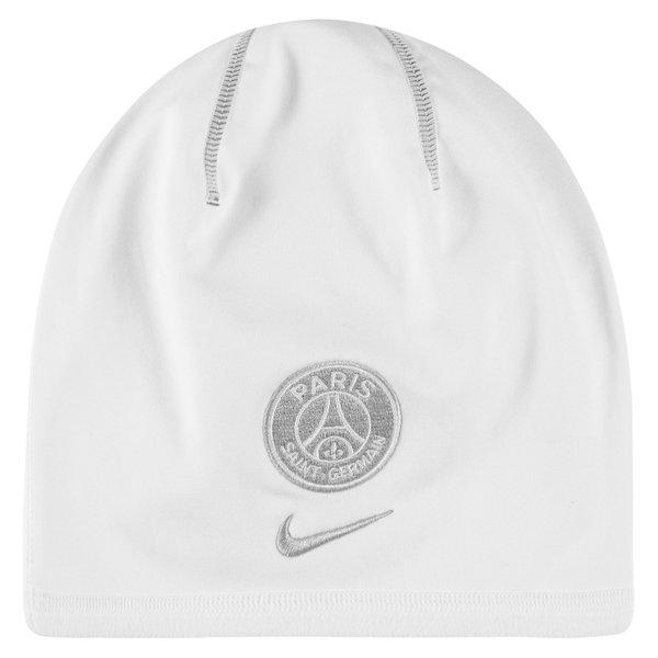 en vente en ligne qualité supérieure Site officiel Paris Saint Germain Beanie Training Crested - White | www ...