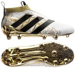 adidas ACE 16+ PureControl FG/AG Stellar Pack - White/Core Black/Gold Metallic