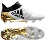 adidas X 16+ PureChaos FG/AG Stellar Pack - White/Core Black/Gold Metallic