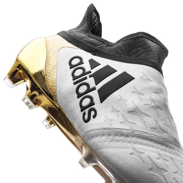 f1c27e05841 adidas X 16+ PureChaos FG AG Stellar Pack - White Core Black Gold ...