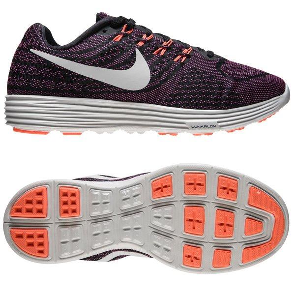 pretty nice 0abd2 dbb64 Nike Running Shoe LunarTempo 2 - Black Summit White Fire Pink Bright ...