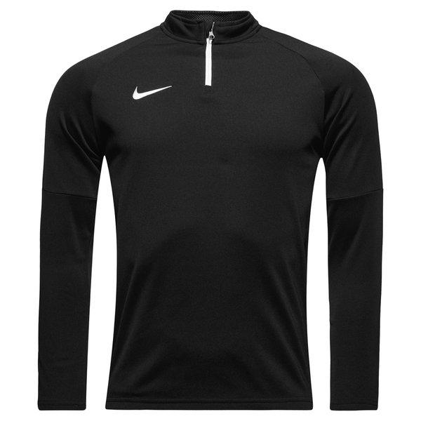 Nike Maillot d'Entraînement Midlayer Drill Top Academy - Noir/Blanc Enfant